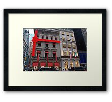 Cartier & Versace.... NYC Framed Print