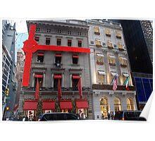 Cartier & Versace.... NYC Poster