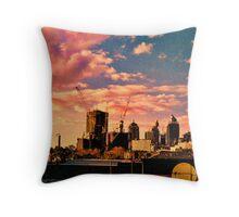 Sunset @ Redfern  Throw Pillow