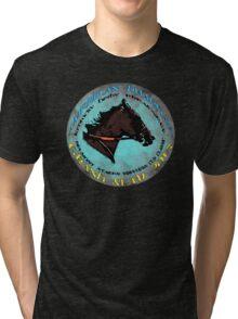 American Pharoah Grand Slam 2015 Tri-blend T-Shirt