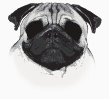 Ghost Pug One Piece - Long Sleeve