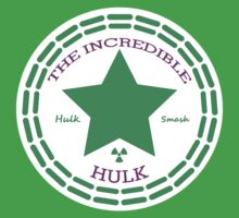The Incredible Hulk Converse by Shaun Beresford