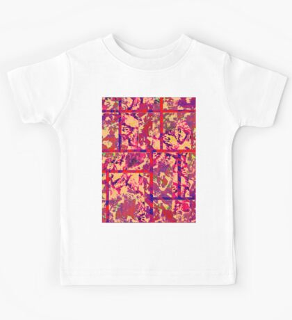 0107 Abstract Thought Kids Tee