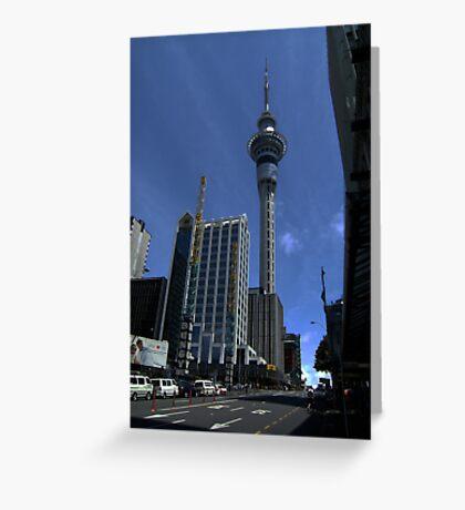 Sky Tower Greeting Card