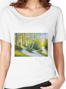 Path to the beach Women's Relaxed Fit T-Shirt
