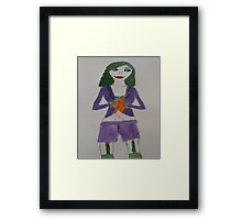 Female Joker Framed Print