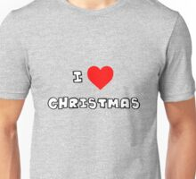 I Heart Christmas Unisex T-Shirt