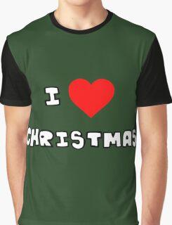 I Heart Christmas Graphic T-Shirt
