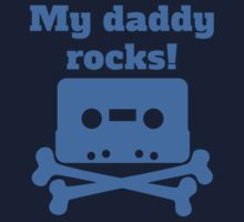 My Daddy Rocks One Piece - Long Sleeve