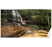 Junction Waterfalls, Lawson, NSW   Poster
