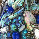 Blue Shells iPhone by Jodi Franzke