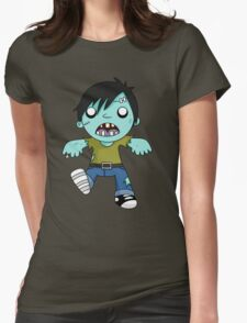zombiee Womens Fitted T-Shirt