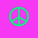 pink green peace by connor95