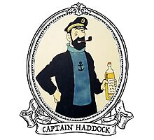 Captain Haddock Photographic Print