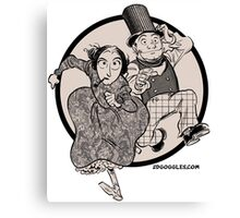 Lovelace and Babbage Leap Canvas Print