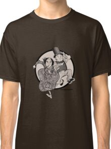 Lovelace and Babbage Leap Classic T-Shirt