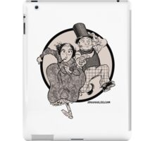 Lovelace and Babbage Leap iPad Case/Skin