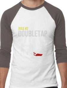 Zombie Survival Guide - Rule #2 - Doubletap Men's Baseball ¾ T-Shirt