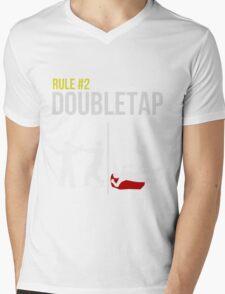 Zombie Survival Guide - Rule #2 - Doubletap Mens V-Neck T-Shirt