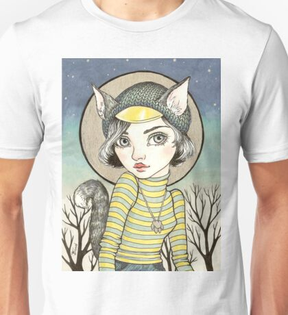 Cat-Girl Unisex T-Shirt