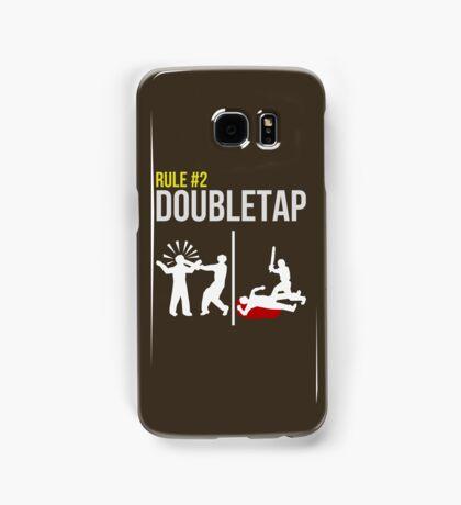 Zombie Survival Guide - Rule #2 - Doubletap Samsung Galaxy Case/Skin