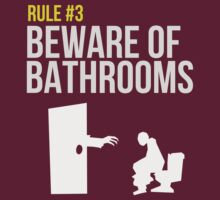 Zombie Survival Guide - Rule #3 - Beware of Bathrooms by AlexNoir