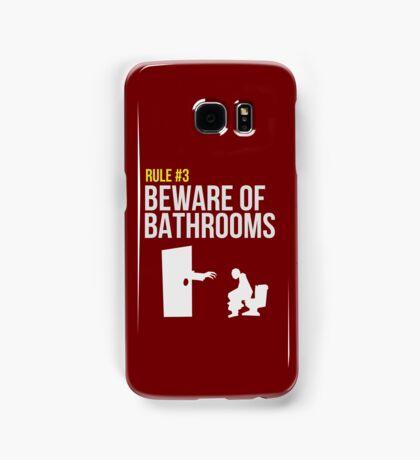 Zombie Survival Guide - Rule #3 - Beware of Bathrooms Samsung Galaxy Case/Skin