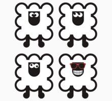 Sheepish One Piece - Short Sleeve