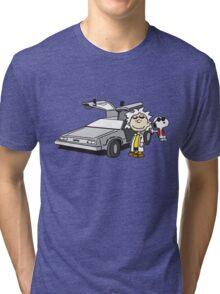 Doc Brown Tri-blend T-Shirt