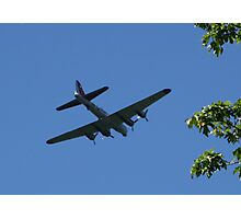 Flyover at Tahoma National Cemetery Photographic Print