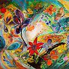 The dancing Butterflies by Elena Kotliarker