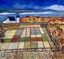 Kansas Farm by lorikonkle