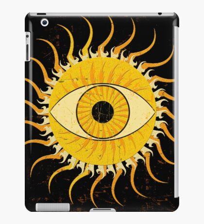 All-seeing sun iPad Case/Skin