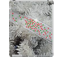 Silver Christmas iPad Case/Skin