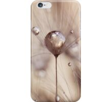 a touch of gold iPhone Case/Skin