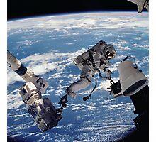 Space Walk Astronaut Photographic Print