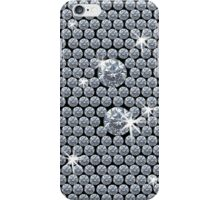 Diamond Bling - Black iPhone Case/Skin