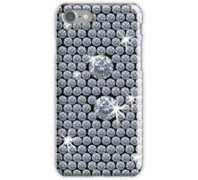 Diamond Bling - Black iPhone Case/Skin