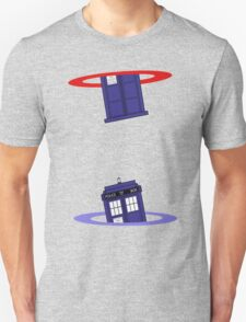 Police Box in a Portal. T-Shirt