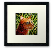 Rousseaus' Cat Framed Print