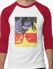 POP FACE 2 Men's Baseball ¾ T-Shirt