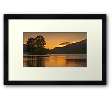 Loch Tay Sunset, Perthshire, Scotland Framed Print