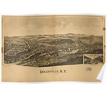 Panoramic Maps Dolgeville NY Poster