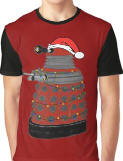 Festive Dalek. Graphic T-Shirt