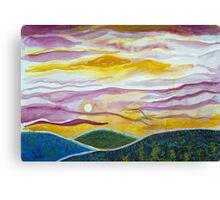 Sunrise over Pantops Canvas Print