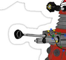 "Festive Dalek -- ""Celebrate!"" Sticker"