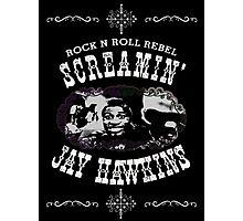 Screamin' Jay Hawkins Rock N Roll Rebel Photographic Print