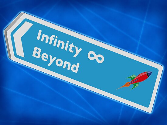 Infinity and beyond by Emma Harckham