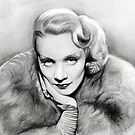 Marlene Dietrich by Martin Lynch-Smith