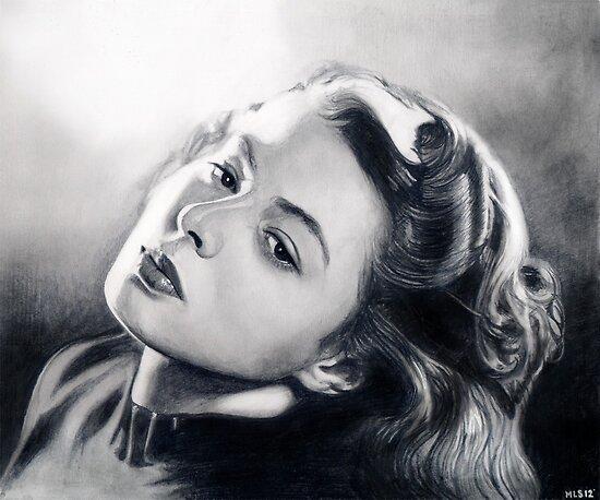 Ingrid Bergman  by Martin Lynch-Smith